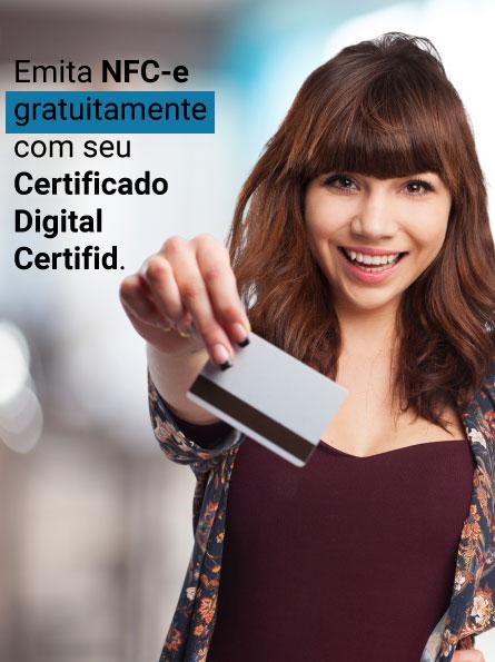 Certificado Digital Obrigatório