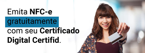 Chegou a hora do certificado